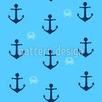 Anchors n Crabs Vector Design