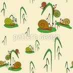 Snail Fun Park Pattern Design