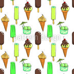 Ice Cream Dream Seamless Vector Pattern Design