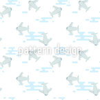 Aeroplanes Vector Ornament