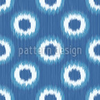Faux Shibori Seamless Vector Pattern Design