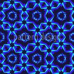 Dynamische Geometrie Nahtloses Vektormuster