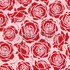 Rose Blossoms Rosey Pattern Design