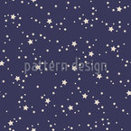 Night Sky Seamless Vector Pattern Design