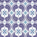 Lateinisches Mosaik Vektor Ornament