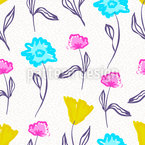 Watercolor Flowers Vector Design