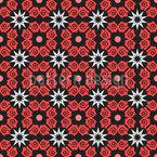 Orderly Flowered Vector Design
