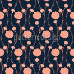 Elegant Carnations Seamless Vector Pattern Design