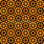 Star Wheels Pattern Design