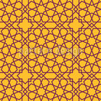 Islamische Sterne Nahtloses Vektormuster