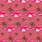 Pink Fuchsia Seamless Vector Pattern Design