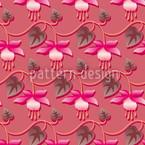 Pinke Fuchsie Nahtloses Vektormuster
