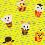 Halloween Cupcakes Vektor Ornament