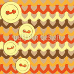 Buttons and Threads Seamless Vector Pattern Design