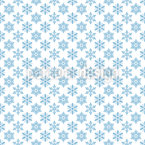 Cozy Crystals Seamless Vector Pattern Design