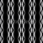 Say It In Stripes Vector Ornament