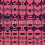 Lava Lamp Seamless Vector Pattern Design