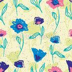 Alp Flowers Vector Design