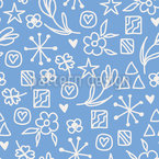 Lucky Symbols Seamless Vector Pattern Design