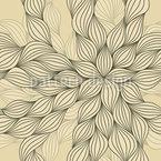 Florale Fantasien Rapportiertes Design