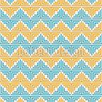 Geometrisches Zickzack Nahtloses Vektormuster