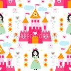 Prinzessin des Schlosses Vektor Design
