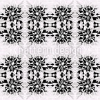 Dahlia Seamless Vector Pattern Design