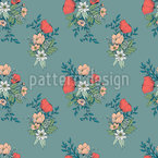 Botanical Bouquet Seamless Pattern
