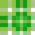 Karo Pixel Nahtloses Vektormuster