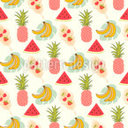 Fruity Seamless Vector Pattern Design
