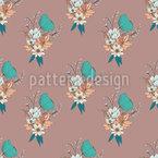 Merry Bouquet Seamless Pattern