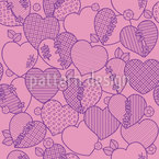 Heart-Breaker Seamless Vector Pattern