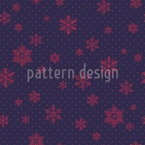 Crystal Rain Seamless Vector Pattern Design