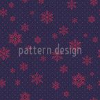 Kristall Regen Muster Design