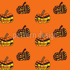 Pumpkins Repeating Pattern