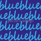 Blue Calms Down Seamless Pattern