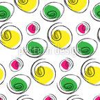 Nicht nur gewöhnliche Kreise Vektor Muster