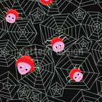 Friendly Spiders Pattern Design
