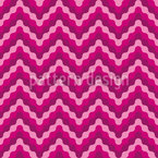 Waved Zigzag Seamless Vector Pattern Design