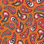 Classy Paisley Design Seamless Vector Pattern Design