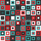 Add Some Squares Seamless Vector Pattern Design