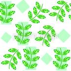 Zweige auf Rechtecken Nahtloses Vektormuster