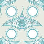 Eye Of The Ocean Repeating Pattern