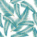 Klare Blätter Vektor Muster