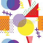 Welcome Back Seamless Vector Pattern Design