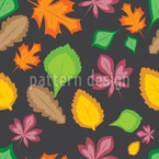 Lightness Of Leaves Seamless Vector Pattern Design