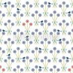 Blumensträusschen Nahtloses Vektormuster