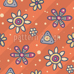 Lovely Flowers Repeating Pattern