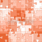 Like A Puzzle Seamless Vector Pattern Design