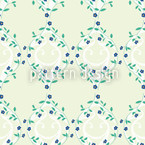 Forget-MeNnot Light Seamless Vector Pattern Design